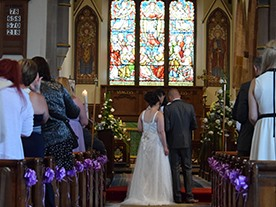All Saints' is a lovely church to be married in
